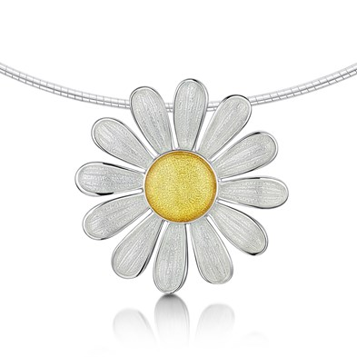 Daisies at Dawn  Necklet