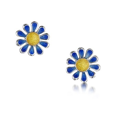 Coloured Daisies Earrings