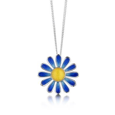 Coloured Daisies Pendant