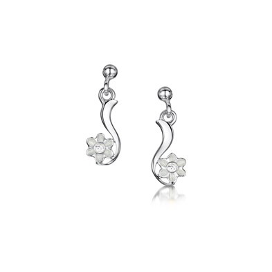 Diamond Daisies Earrings