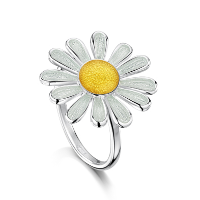Daisies at Dawn  Ring