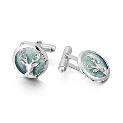 Stags Head Cufflink