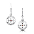 Garnet Cathedral - Earrings