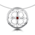 Garnet Cathedral - Necklet