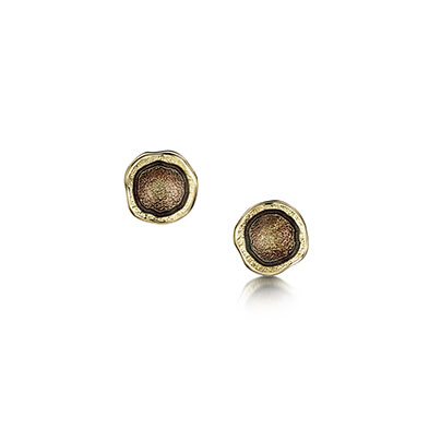 Lunar in Gold Earrings
