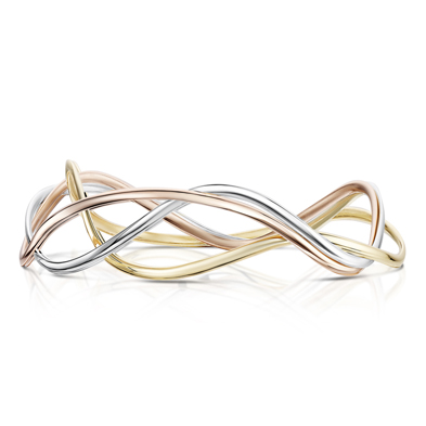 Tidal in Gold Bangle