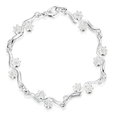 Daisies at Dawn  Bracelet