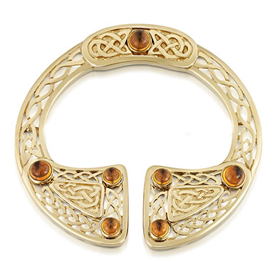 Orkney's Celtic Connection Brooch