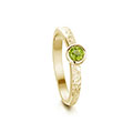 Matrix 9ct Yellow Gold Ring