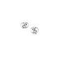 Captivate Sterling Silver Stud Earrings