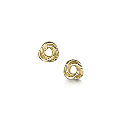 Reef Knot Diamond Earrings