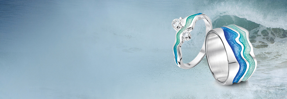 Popular Sea-Inspired Rings - Sheila Fleet Jewellery EF15
