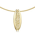Captivate 9ct Yellow Gold Necklet