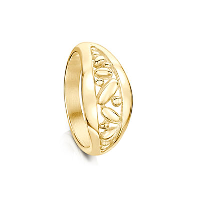 Captivate in Gold Ring