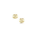 Captivate 9ct Yellow Gold Earrings