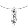 Captivate Stirling Silver Necklet