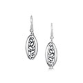 Captivate Sterling Silver Drop Earrings