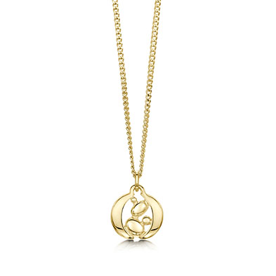 Captivate in Gold Pendant