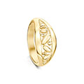 Captivate 9ct Yellow Gold Ring