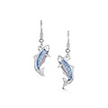 Salmon - Earrings