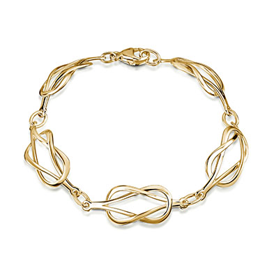 Reef Knot Diamond Bracelet