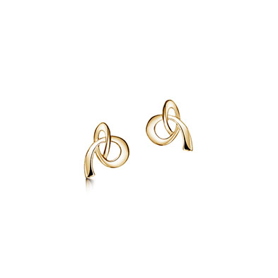 Tidal in Gold Earrings