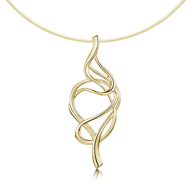 Tidal in Gold Necklet