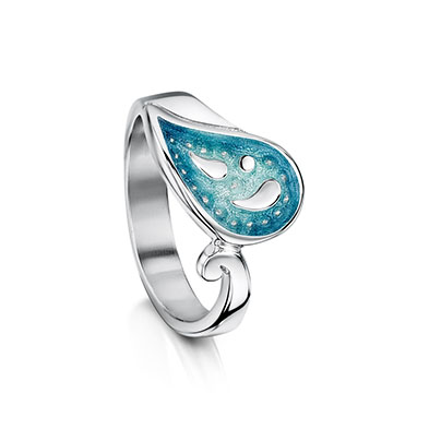 Paisley Leaf Ring