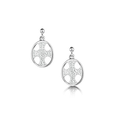 Cross of the Kirk Earrings