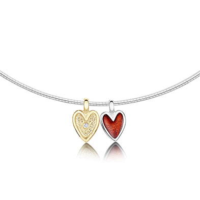Secret Hearts Necklet
