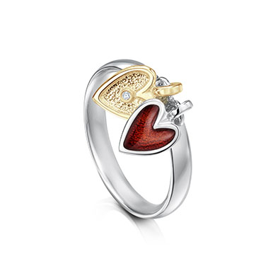Secret Hearts Ring