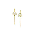 Snowdrop in Gold - Earrings
