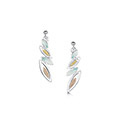 Seasons Gold Leaves Drop Earrings