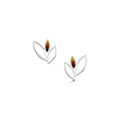 Seasons Silver & Enamel Stud Earrings