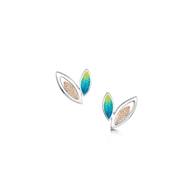 Seasons Gold Leaves Earrings