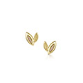 Seasons 9ct Yellow & Rose Gold Earrings