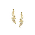 Seasons 9ct Yellow, White & Rose Gold Drop Earrings