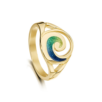 Pentland in Gold Ring