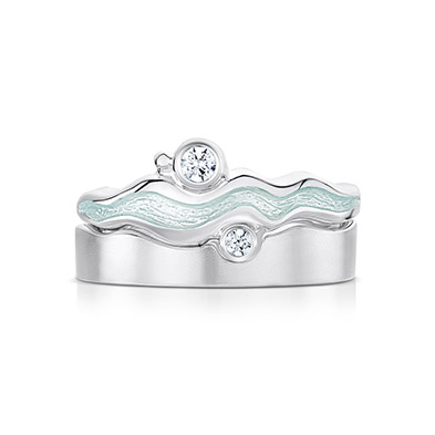 River Ripples Ring