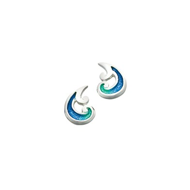 Bow Waves Earrings
