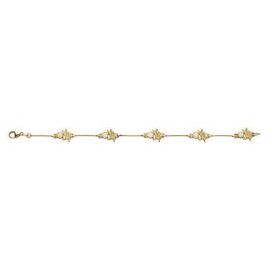 Moonlight in Gold Bracelet