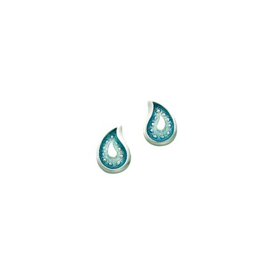 Paisley Leaf Earrings