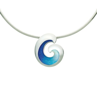 Wave Necklet