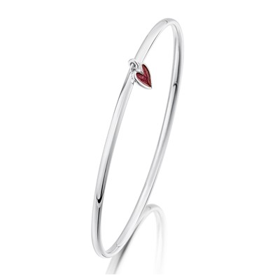 Secret Hearts Bangle
