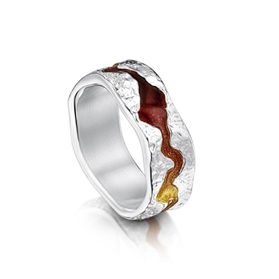 Lava Stream Ring