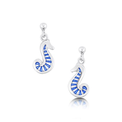 Pictish Sea Horse Earrings
